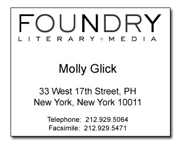 Foundry agent Molly Glick